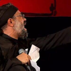 دانلود مداحی محمود کریمی سر تکیه داده
